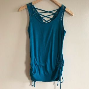 3/$10 Strappy Blue Tank Top